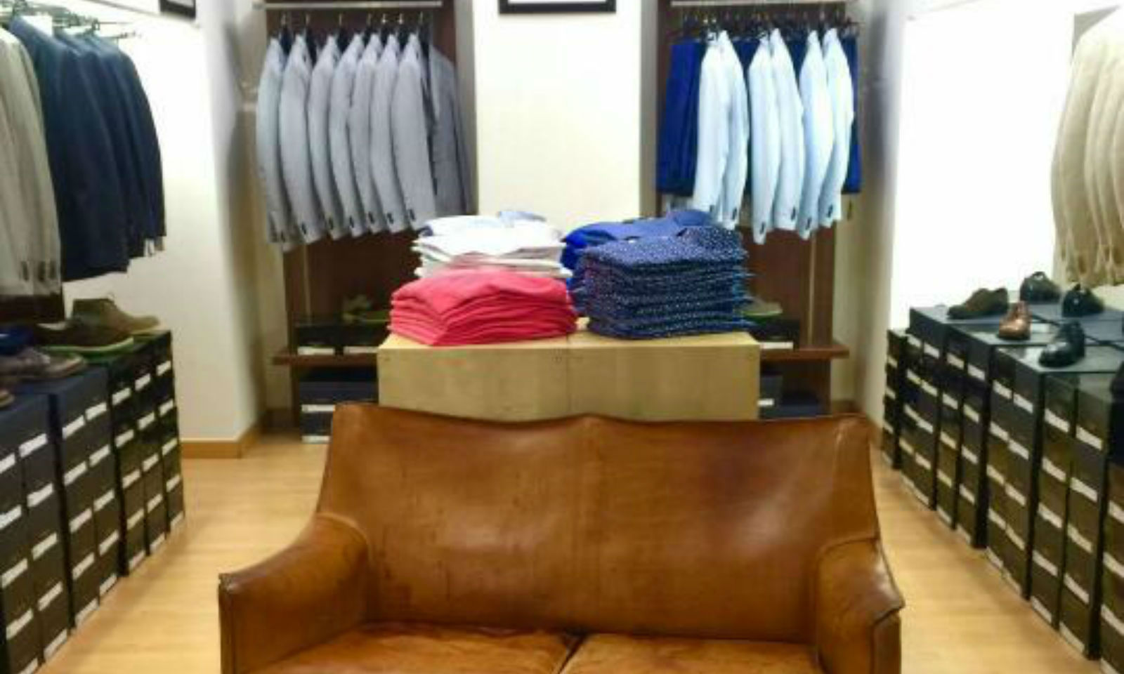 antonio fusco factory store outlet uomo milano