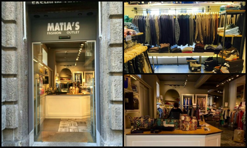 Matia 39 s outlet chic stock house a milano stile ruvido for Milano fashion outlet