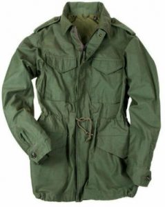 field jacket verde