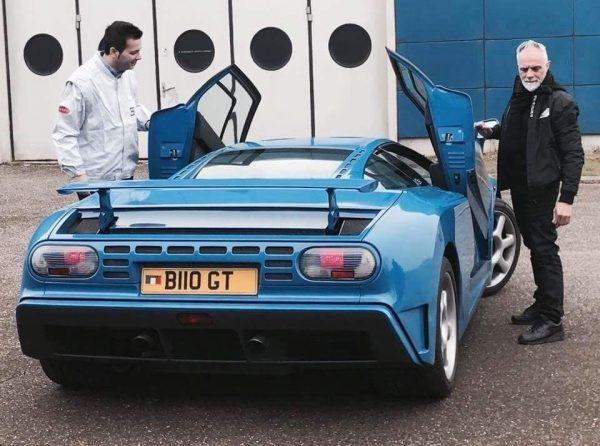 luca e Bugatti