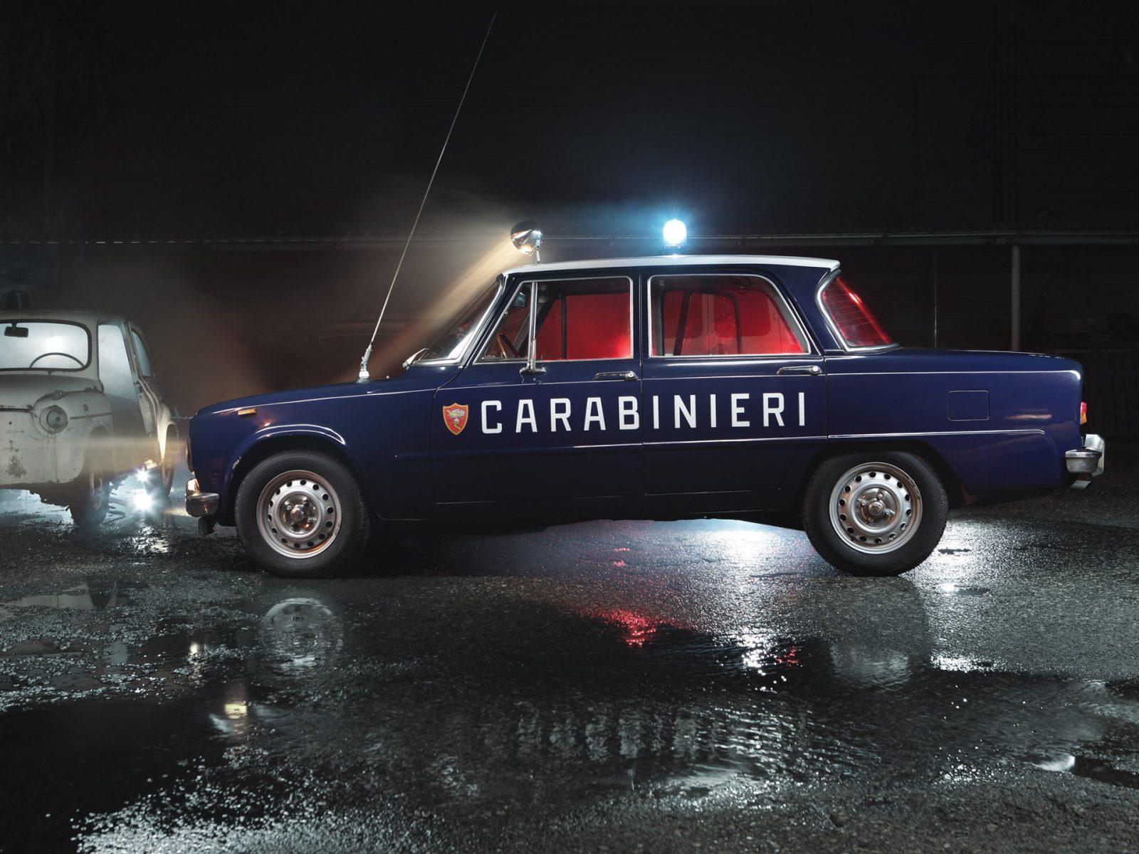 Giulia 1300 super Carabinieri