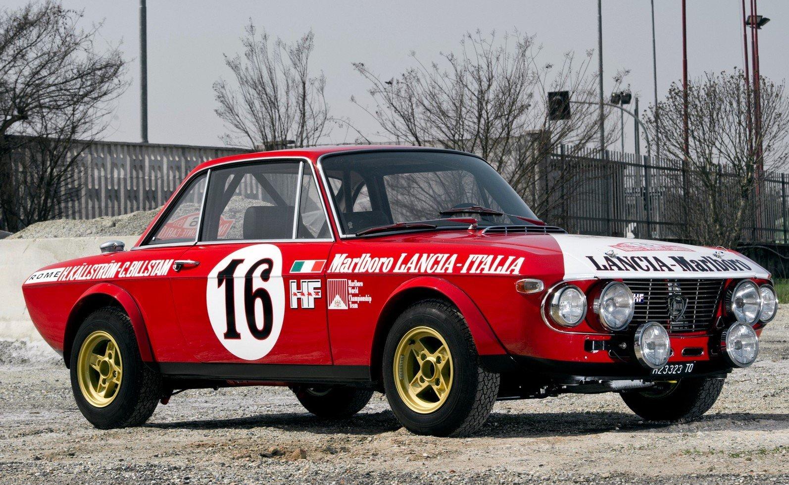 Lancia Fulvia Coupé HF
